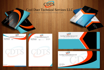 Design you Logo, Business Card , Letterhead and Elvelope (Corporate Identity)  only