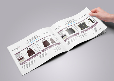 Design your catalogue with unlimited revisions