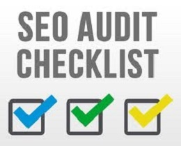 Provide an initial SEO Audit/Checklist