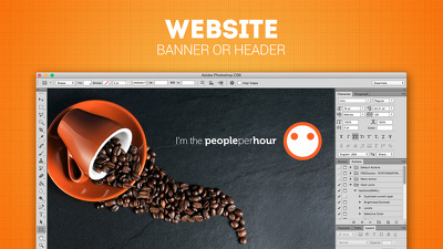Design Web Banner, FB or G+ Cover, Twitter or SoundCloud Header, Youtube Channel Art