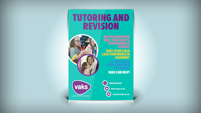 Design a A6 or A5 flyer, postcard or leaflet with revisions