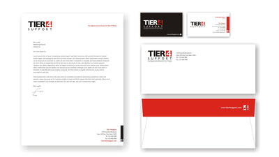 Design your business stationery (business card, letterhead, envelope,compliment slip)
