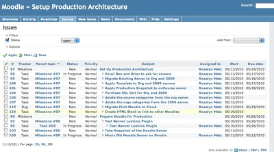 Setup Redmine project management tool / Ticketing System