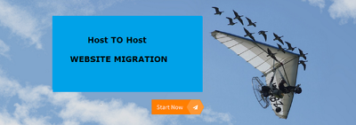 Migrates site from one hosting to another