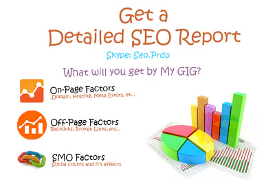 SEO Analysis & Audit Your Website with Detailed Report