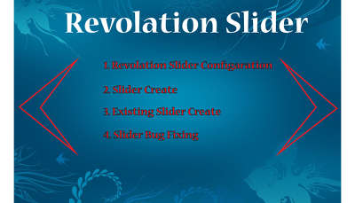 Create a revolution Slider setup & configuration