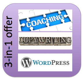 Build up your new business by coaching you, copywriting and building a Wordpress site