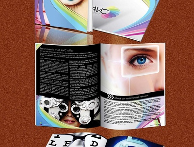 Design a4 four Page (4) brochure