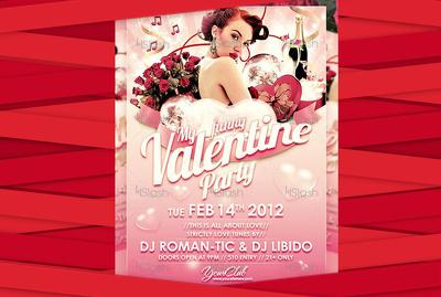 Design your Valentine Flyer
