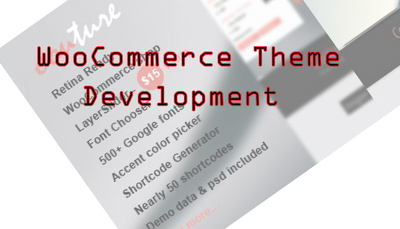 Develop your wooCommerce theme