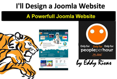 Design a Joomla website