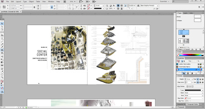 Do a lay out for your book in InDesign