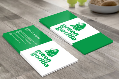 Design professionally unique double sided business cards