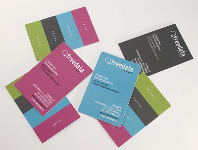 Design your two sided business card