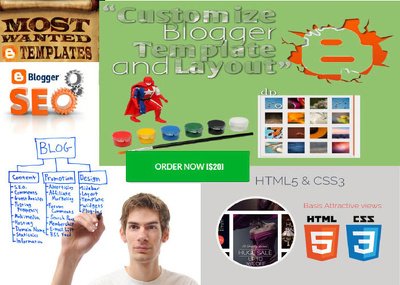 Customize or modify your responsive blogger  template