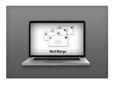 Mail Merge Excel database in Ms-Word document.
