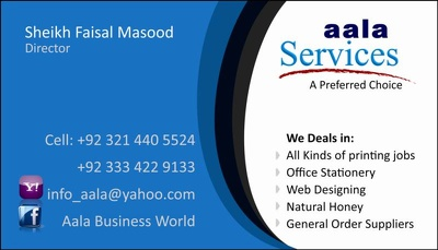Design a Professional and Elegant Business-Visiting Card