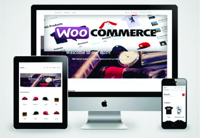 Create a Responsive Ecommerce website with Woocommerce