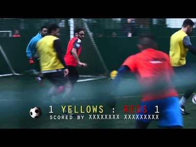 Film and edit your football match in London area