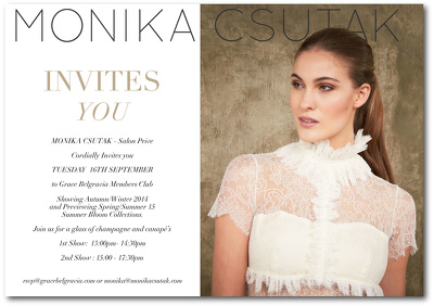 Create your fashion event invitation