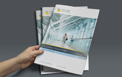 Design your professional Bi-fold brochure