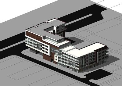 Create 3d model by Revit