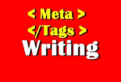 Write SEO Meta Tags for your website or Products