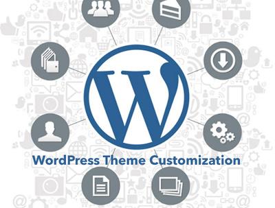 Install and modify your Wordpress theme