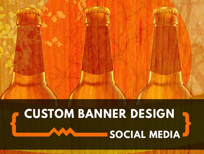 Design unique banners for your social media (Facebook, Twitter, YouTube, Google+)