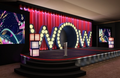 Design any space (interior/exhibition/stage)
