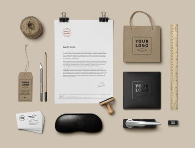 Design your executive,eye catching branding Mock-up