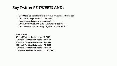 Add 50 real Twitter Retweets