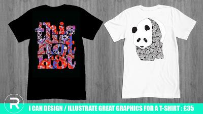 Design Original T-Shirt Graphic / Illustration