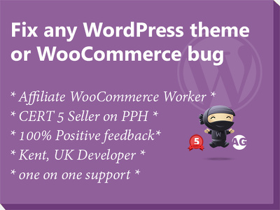 Fix any WordPress theme / WooCommerce bug  * Affiliate WooCommerce Worker *