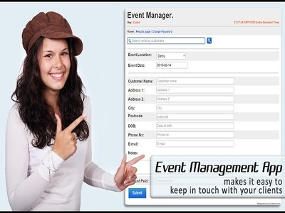 Design & install an event management system