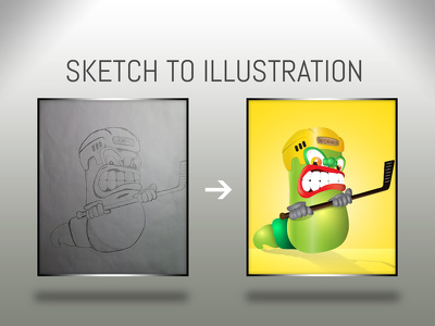Vectorize your hand drawings