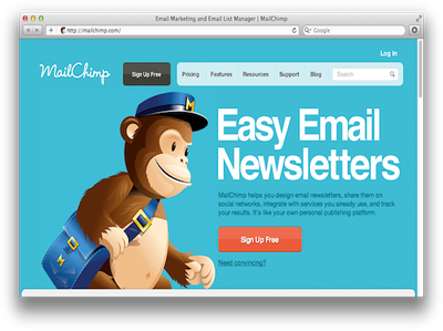 Design Email Newsletter in mailchimp or HTML (Responsive)