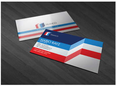Business card, Premium, Double Sided, Print Ready with Unlimited Revisions