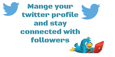 Maintain your twitter profile for 15 days