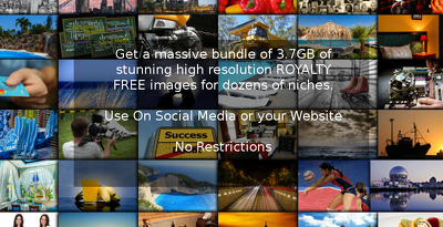 Supply 3.7GB of royalty free images - use anywhere