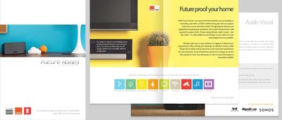Create a 10 page brochure