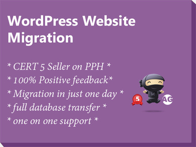 Migrate / transfer / move your WordPress website with minimum down time