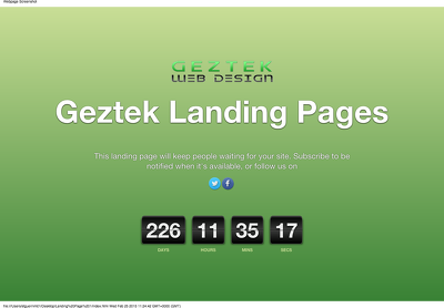 Create a Mobile Friendly, Fully Responsive Landing Page