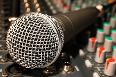 Produce your lead vocal recording and mix into your backing music
