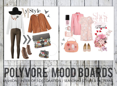 Create interesting, relevant and engaging Polyvore board for your brand or product