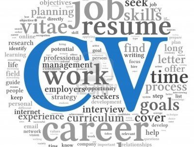 Take a fresh look at your CV to make sure it sparkles