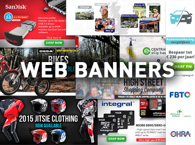 Design you a high standard, effective web banner