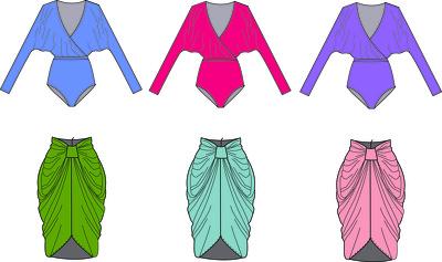 Create a CAD in 4 different colourways
