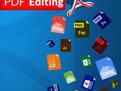 Edit, update, optimize or convert up to 5 PDF pages
