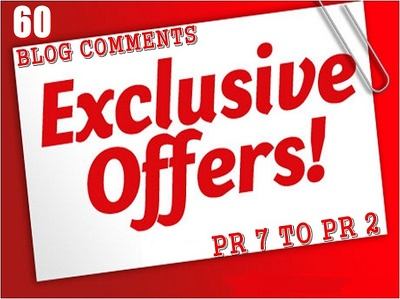submit 60 exclusive dofollow comments from 20pr2 ,20pr3 ,10pr4 ,5pr5, 4pr6 ,1pr7